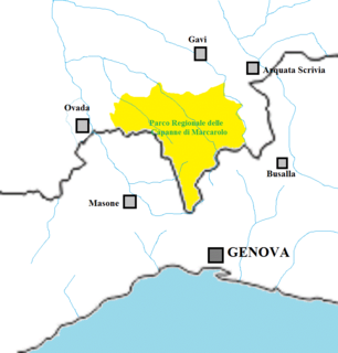 regional park in Italy