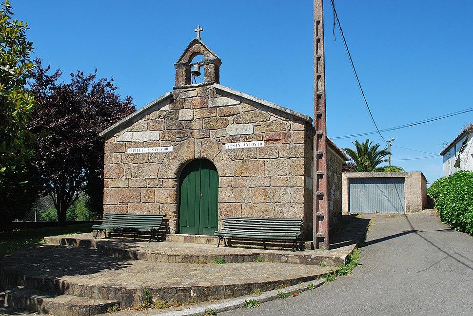 Capela de San Roque e San Antón en Cillobre