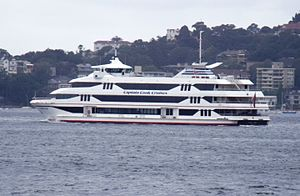 Captain Cook Cruises, Australia - ''Sydney 2000'' in January 2011