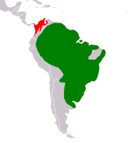 Répartition du capybara