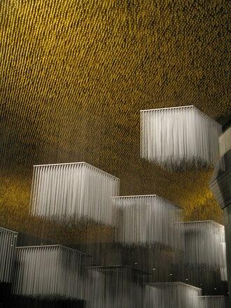 Teresa Carreño Cultural Complex - Foyer ceiling by Jesús Soto
