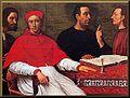 Cardinal Bandinello Sauli, His Secretary and Two Geographers.jpg