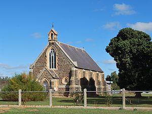 Carisbrook, Victoria - St Paul's Anglican church