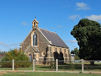 Carisbrook, Victoria - St Paul's Anglican church