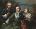 Carl Gustaf Tessin, Ulla Sparre af Sundby samt Brita Stina Sparre (Martin van Meytens d.y.) - Nationalmuseum - 40210.tif