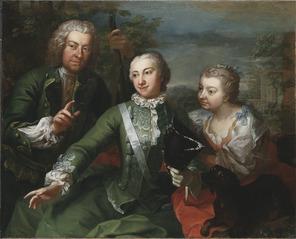Carl Gustaf Tessin, Ulla Sparre af Sundby samt Brita Stina Sparre