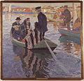 Carl Wilhelmson - Church-Goers in a Boat - Google Art Project.jpg