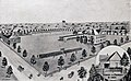 Carlisle Military Academy Tenth Annual Announcement drawing of campus in 1901 (10013172).jpg