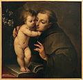 Carlo francesco nuvolone, sant'antonio da padova, 1643 circa, dal palazzo dei giureconsulti a milano.JPG