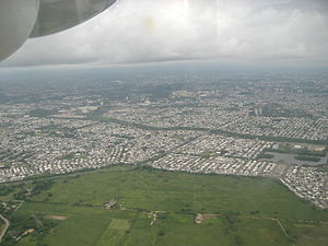 Carolina, Puerto Rico - Aerial view of the city