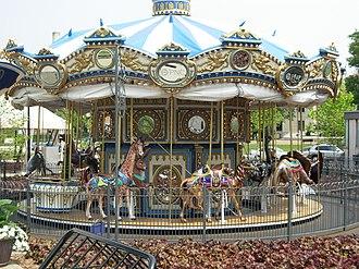 Schenley Plaza - Schenley Plaza's carousel
