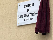 Carrer de Caterina Tarongí, Palma