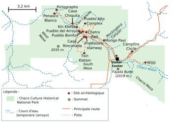 National Parks In New Mexico Map.Chaco Culture National Historical Park Wikipedia