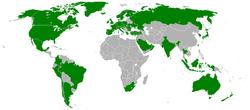 Lande som har adgang til Playstation Network