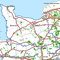 caen region basse normandie