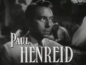 Richard von Coudenhove-Kalergi - Paul Henreid as Victor Laszlo in the cinematic trailer of Casablanca