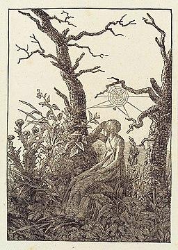 Caspar David Friedrich - Melancholie (Herzog August Bibliothek)