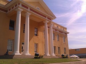 Cass County, Texas - Image: Cass County Courthouse Linden Tx