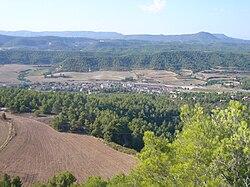 Castellolí vist des del castell de Castellolí.jpg