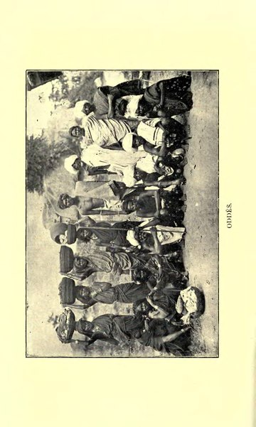 Castes and Tribes of Southern India/Oddē - Wikisource, the