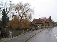 Castle Bytham village pump.jpg