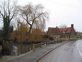 Castle Bytham village in South Kesteven