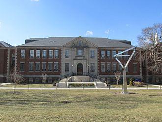 University of Connecticut School of Engineering - Castleman Building