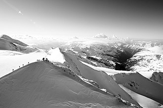 Castor (mountain) - Image: Castor Monte Castore