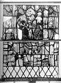 Cathédrale - Vitrail, Chapelle Jeanne d'Arc, la Vierge et l'Enfant, saint jean, baie 36, quatorzième panneau, en haut - Rouen - Médiathèque de l'architecture et du patrimoine - APMH00031346.jpg