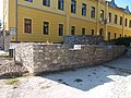Catholic school and castle remains, 2019 Tapolca.jpg