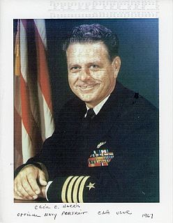 Cecil E. Harris American naval aviator
