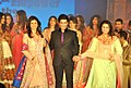 Celebrities at Manish Malhotra - Lilavati Save & Empower Girl Child show (3).jpg