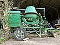 Cement mixer at Hatfield Broad Oak, Essex, England.jpg