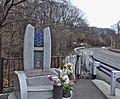Cenotaph of ski bus fall accident in Karuizawa.jpg