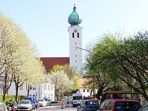 Ramersdorf-Perlach - Image: Centre of Ramersdorf Munich