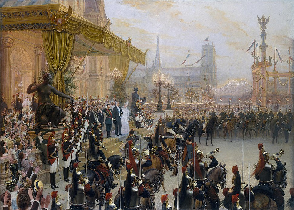 Ceremonial Reception of Nicholas II in Paris