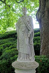 Statue Of Ceres Circa 60 Metres East Of Waddesdon Manor