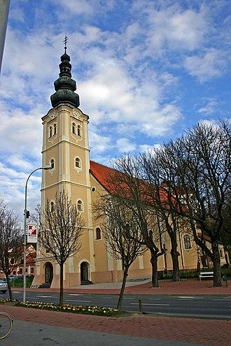 Lendava - Parish church in Lendava