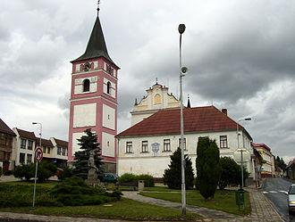 Černovice (Pelhřimov District) - Town square