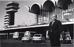 Henri Coandă International Airport - Architect Cezar Lăzărescu