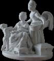 Château de Versailles, petit appartement de la reine (2e étage), salle à manger, La Nourrice, Josse-François-Joseph Leriche d'ap. Louis Boizot 02-transparent bg.png