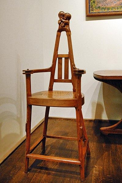 fichier chaise art nouveau mus e des arts d coratifs wikip dia. Black Bedroom Furniture Sets. Home Design Ideas