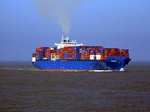 Chaiten p2 approaching Port of Rotterdam, Holland 08-Mar-2007.jpg