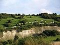 Chalk pit near Fovant - geograph.org.uk - 1476603.jpg