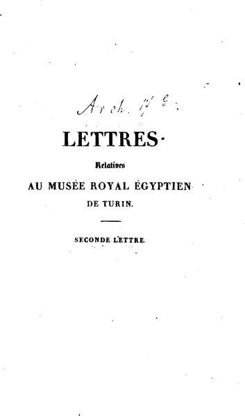 File:Champollion - Lettres à M le duc de Blacas d'Aups, tome 2.djvu