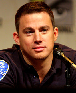 Channing Tatum op WonderCon in 2012