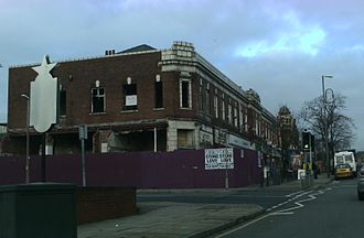 Chapeltown, Leeds - Decaying buildings on Chapeltown Road