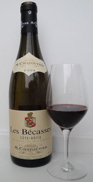 A 1999 Côte-Rôtie Les Bécasses from M. Chapout...