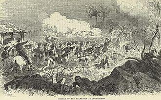 Palmetto Regiment - The Palmetto Regiment at Mexico City