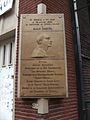 Charleroi - Maurice Cambier - plaque Grand Rue.jpg